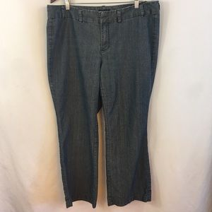 Tommy Hilfiger Womens Jeans 16 Madison Chambray